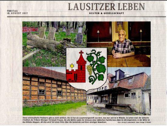 Lausitzer Zeitung 18.08.2017